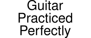 Guitar Practiced Perfectly Discount Vouchers, Discount Codes & Promos